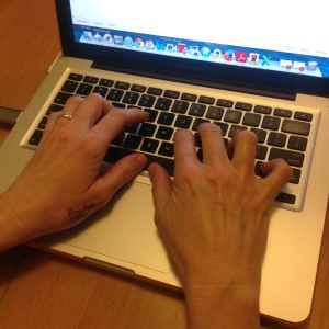 Carolyn's hands 1