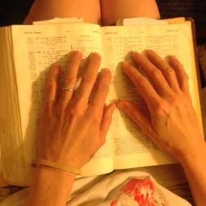 Carolyn's hands 2